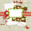 Cute Christmas scrapbook elements — Stock Photo #8067805