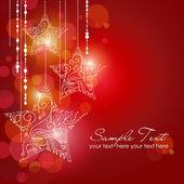 Jul strars bakgrund — Stockfoto