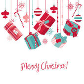 Christmas-Gifts — Stock Photo