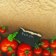 Fresh tomatoes — Foto Stock