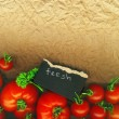 Foto de Stock  : Fresh tomatoes