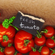 Fresh tomatoes - Stock Photo