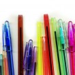 Assortment of coloured pencils — Stock Photo #8096831