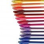 Assortment of coloured pencils — Stock Photo #8096887