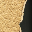Ripped recycled cardboard background texture — Stock Photo #8097183