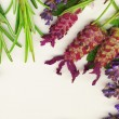 :Lavender and Rosemary - Stock Photo