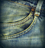 Jeans fabric — Stock Photo