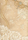 Textile wedding background — Stockfoto