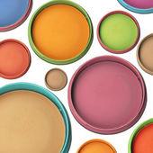 Collection d'ombres à paupières colorées — Photo