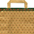 Christmas recycleable Paper bag - Foto Stock