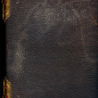 Old leather bound book — Stock Photo