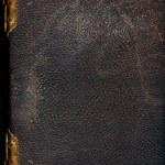 antiguo libro encuadernado de cuero — Foto de Stock