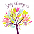 Stock Photo: Spring is coming