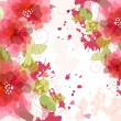Artistic flower background — Stock Photo