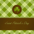 Saint patricks dag kaart — Stockfoto