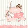 Royalty-Free Stock Photo: Cute scrapbook elements in French style