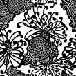 Art Deco Flower seamless pattern — Stock Photo #9412210