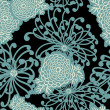 Art Deco Flower seamless pattern — Stock Photo #9412231