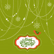 Foto Stock: Abstract Christmas Background