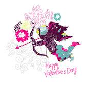 Happy Valentine's Day card. — Stock Photo