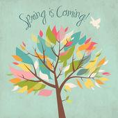 Vem aí a primavera — Foto Stock
