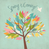 Våren är på väg — Stockfoto