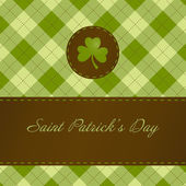 Saint Patricks day card — 图库照片
