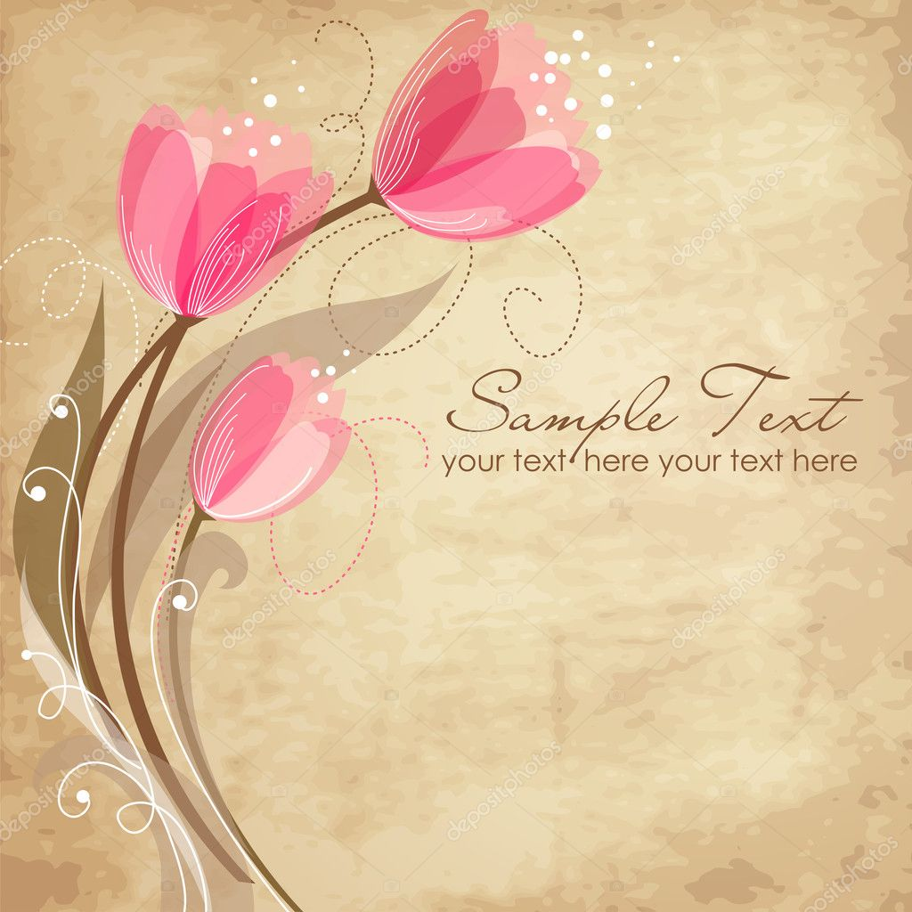 Romantic Flower Background — Stock Photo #9411260