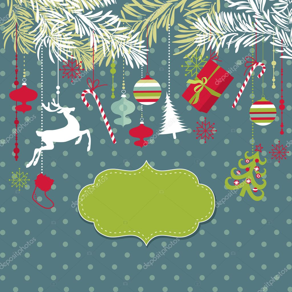 Christmas background — Stock Photo #9412683
