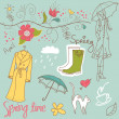 Spring doodles — Stock Photo #9480941