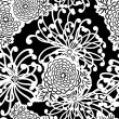 Art Deco Flower seamless pattern — Stock Photo #9482370