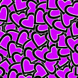 St. Valentines day background - Foto Stock