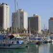 Marina in Tel Aviv — Stock Photo