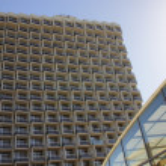 Modern hotel - Tel-Aviv, Israel — Stock Photo