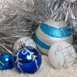 New year's and christmas decoration — Stock Photo