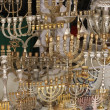 Stock Photo: Hannuki- Historical Arabic Bazar in Jerusalem, Israel.