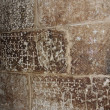 Stock Photo: Walls at Church of Holy Sepulchre - Golgotha, Jerusalem