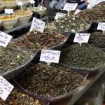 Assorted herbal wellness dry tea — Stock Photo