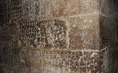 Walls at the Church of the Holy Sepulchre - Golgotha, Jerusalem — Stock Photo