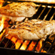 grilled chicken — Stock Photo