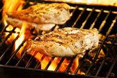ızgara tavuk — Stok fotoğraf