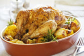 Roasted Chicken — Foto Stock