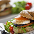 Vegetables Sandwich — Stock Photo #8130757