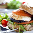 Vegetarian Sandwich Close Up — Stock Photo #8130782