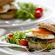 Vegetarian Sandwich — Stock Photo #8130799