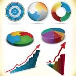 Diagrams — Stock Vector #7970754