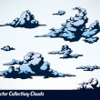 Clouds — Stock Vector #7970768