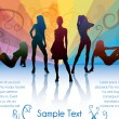 Royalty-Free Stock Vector Image: Woman silhouettes