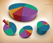 Charts — Stock Vector