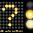 Led Display — Image vectorielle